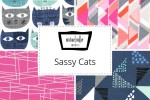 Michael Miller - Sassy Cats Collection