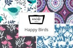 Michael Miller - Happy Birds Collection