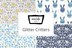 Michael Miller - Glitter Critters Collection