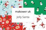 Makower - Jolly Santa Collection
