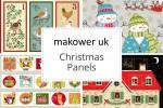 Makower - Christmas Panels Collection