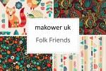 Makower - Folk Friends Collection