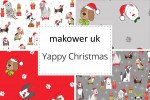 Makower -  Yappy Christmas! Collection