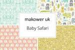 Makower - Baby Safari Collection