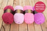 Attic24 - Pink Bunting (Stylecraft Yarn Pack)