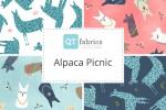 QT Fabrics - Alpaca Picnic Collection