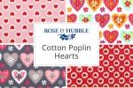 Rose & Hubble - Cotton Poplin Hearts
