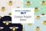 Rose & Hubble - Cotton Poplin Bees