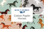 Rose & Hubble - Cotton Poplin Horses