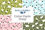 Rose & Hubble - Cotton Poplin Sheep