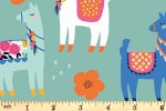 Riley Blake - Novelty - Llamas - Mint (C9009)