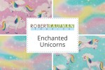Robert Kaufman - Enchanted Unicorns Collection