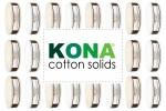 "Kona Cotton Solids - Skinny Strips (1.5"" strips)"