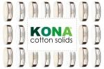 """Kona Cotton Solids - Skinny Strips (1.5"""" strips)"""