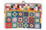 Rico - Geometric Coin Purse (Tapestry Kit)