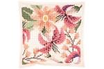 Rico - Felt Cushion - Floral Design (Cross Stitch Kit)