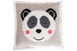 Rico - Felt Cushion - Giant Panda (Cross Stitch Kit)