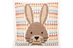 Rico - Felt Cushion - Hare (Cross Stitch Kit)