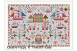 Riverdrift House - Anglesey - Reproduction Sampler (Cross Stitch Pattern)