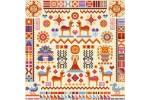 Riverdrift House - Inca Sampler (Cross Stitch Kit)