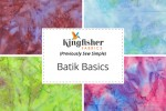 Kingfisher Fabrics - Batik Basics Collection