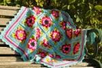 Cherry Heart - Painted Roses Baby Blanket (Stylecraft Yarn Pack)