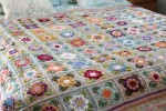 Cherry Heart - Faded Painted Roses Blanket (Stylecraft Yarn Pack)
