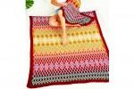 Stylecraft CAL - Queen Blanket - Ruby Queen - STANDARD Small Blanket (Yarn Pack)