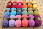 Attic24 - Sunny Log Cabin Blanket CAL (Stylecraft Yarn Pack)