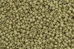 Toho Glass Seed Beads, PermaFinish Yellow Gold Metallic Matte (PF559F) - Size 8, 3mm
