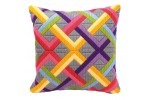 Vervaco - Bold Geometric Style Cushion (Long Stitch Kit)