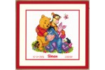 Vervaco - Birth Record - Disney Winnie & Friends (Cross Stitch Kit)
