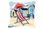 Vervaco - Beach Chair Cushion (Cross Stitch Kit)