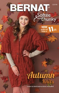 Bernat 530190 - Autumn Knits in Softee Chunky (booklet)