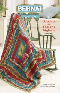 Bernat 530193 - Around the Seasons Afghans in Satin (booklet)