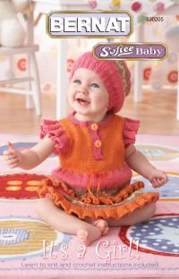 Bernat 530205 - It's a Girl in Softee Baby (booklet)