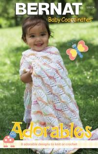 Bernat 530224 - Adorables in  Baby Coordinates (booklet)