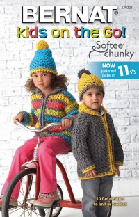 Bernat 530225 - Kids on the Go in Softee Chunky (booklet)