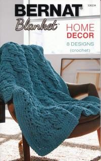 Bernat 530234 - Home Decor 8 Crochet Designs in Blanket (booklet)