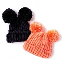 Bernat - Adorable PomPom Crochet Hat in Softee Baby Chunky (downloadable PDF)