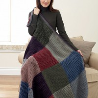 Bernat - All Colours Afghan in Satin (downloadable PDF)