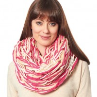 Bernat - Arm Knit Cowl in Softee Chunky (downloadable PDF)