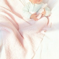 Bernat - Baby Afghan to Knit in Softee Baby (downloadable PDF)