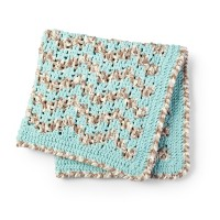 Bernat - Baby Bargello Crochet Blanket in Baby Blanket (downloadable PDF)