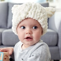 Bernat - Baby Bear Hat in Alize Blanket -EZ (downloadable PDF)