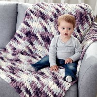 Bernat - Baby Blanket in Alize Blanket -EZ (downloadable PDF)