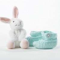Bernat - Baby Booties in Softee Baby (downloadable PDF)