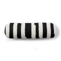 Bernat - Crochet Backyard Bolster in Maker Outdoor Stripes (downloadable PDF)