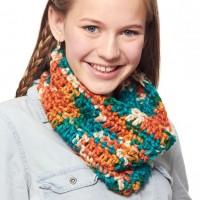 Bernat - Basic Crochet Cowl in Softee Chunky (downloadable PDF)