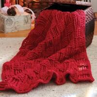 Bernat - Basketweave Afghan in Blanket (downloadable PDF)